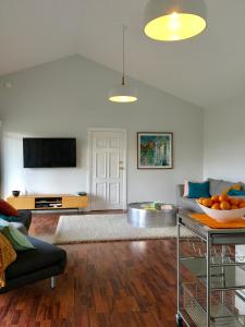 A seating area at Stoney Creek Retreat