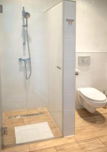 A bathroom at Ośrodek Wypoczynkowy Żagiel
