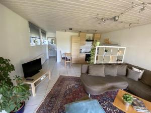 Ein Sitzbereich in der Unterkunft Haus Höhneck 1