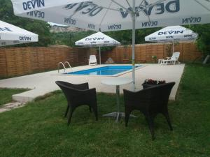 The swimming pool at or near Chiflik Elena Guest House