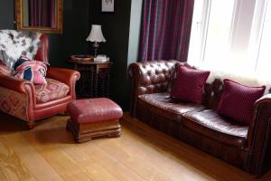 A seating area at Bedlam House