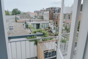 Een balkon of terras bij Hotel Room11