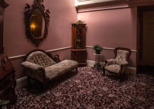 A seating area at The Monterey Hotel