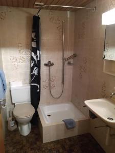 Ein Badezimmer in der Unterkunft Hotel Restaurant Jura