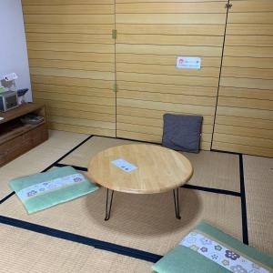 A seating area at Guest House YAMASHITA-YA