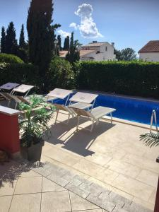 The swimming pool at or close to Apartments Mare