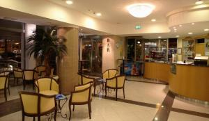 Лобби или стойка регистрации в Hotel Tamanco