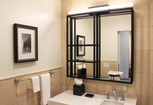 A bathroom at La Valencia Hotel