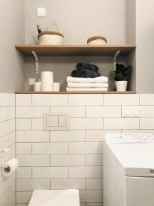 Łazienka w obiekcie Apartamenty Marynarska 2