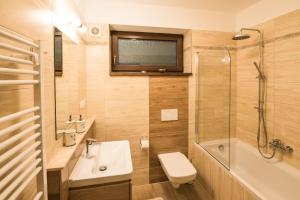 Kúpeľňa v ubytovaní Ubytovanie Žember