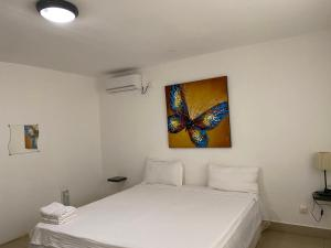 A bed or beds in a room at Residence Maeva