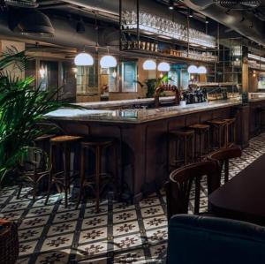 The lounge or bar area at Armada BlueBay