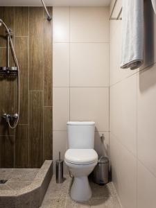 A bathroom at Chelyabinsk Hotel 4 floor
