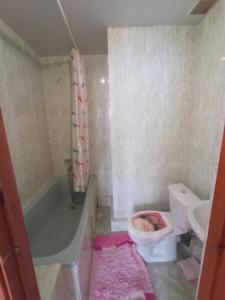 A bathroom at Василёк