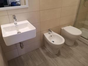 A bathroom at Country B&B Palinuro