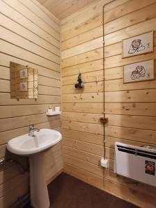 A bathroom at Guesthouse Voskresenie