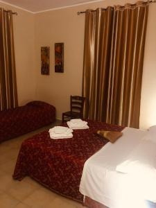 Letto o letti in una camera di La Torre Del Moro