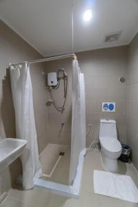 A bathroom at One Averee Bay Hotel