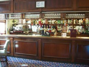 The lounge or bar area at Elstead Hotel