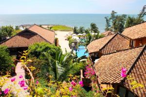 Tầm nhìn từ trên cao của Poshanu Resort