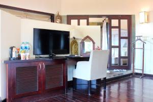 TV/trung tâm giải trí tại Poshanu Resort