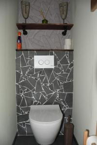 """Een badkamer bij """"Chez Ba'Nus"""""""