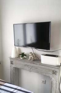 TV a/nebo společenská místnost v ubytování Villa Boscoverde