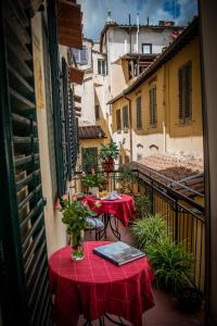 A balcony or terrace at Dei Mori