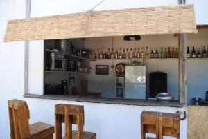 Salon ou bar de l'établissement Chambres d'hôtes de la Cavayere & Spa