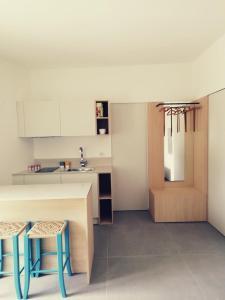 A kitchen or kitchenette at Pietra Pesara