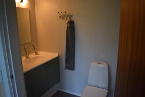 A bathroom at Nygammelsø Bed & Breakfast