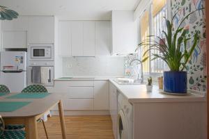 Una cocina o zona de cocina en Piso Conil