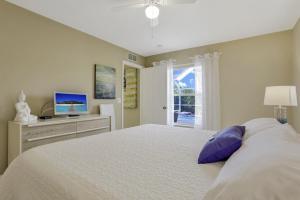 Ein Bett oder Betten in einem Zimmer der Unterkunft Villa Valmora