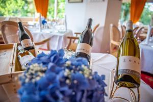 Drinks at Romantik Hotel Schweizerhof
