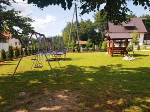 Children's play area at Guesthouse Green Valley