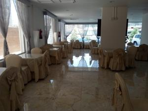 Banquet facilities at the hotel
