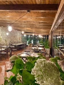 A restaurant or other place to eat at Agriturismo Sant'Alfonso