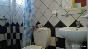 Ein Badezimmer in der Unterkunft Palatino