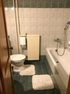 A bathroom at Il Gallo Nero - Fekete Kakas Étterem és Panzió