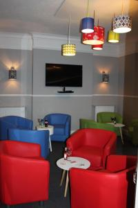 A seating area at The St. Leonards Guest House