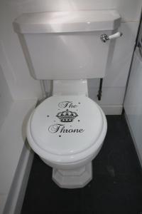 A bathroom at Prince Hill House