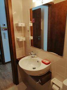 A bathroom at Sonetos Do Tejo