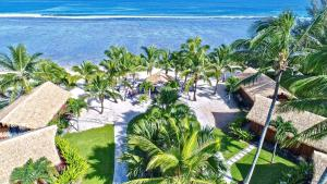 A bird's-eye view of Magic Reef Bungalows