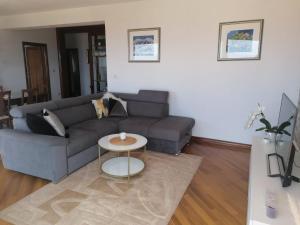 A seating area at Apartman Niki