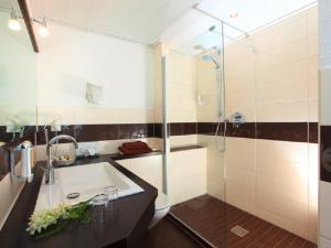 A bathroom at Engemann Kurve