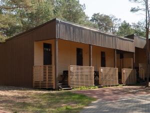 Ēka, kurā atrodas kempings