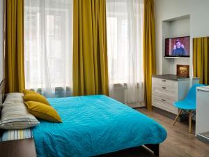 Кровать или кровати в номере  La Casa Di Bury Apartments 2