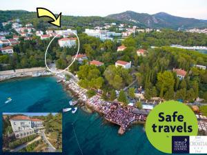 Ptičja perspektiva objekta Hotel Croatia