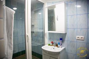 A bathroom at Smirnov Hotel