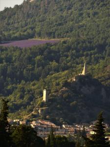 A bird's-eye view of Gîte Le Lavandin